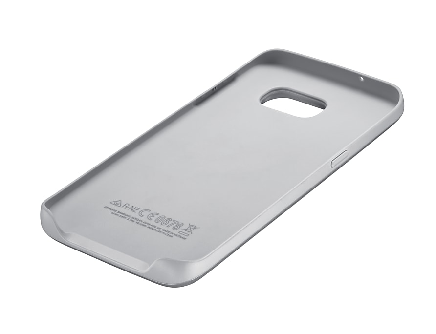 online retailer e4cb3 c4e0e Extended Battery Case for Galaxy S7 Edge Silver | Samsung UK