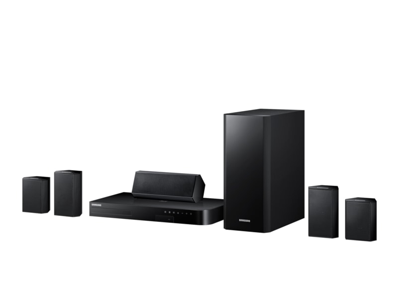 5 Speaker 3D Blu-ray & DVD Home Theatre System R Perspective black