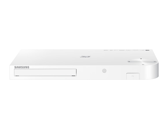 3D Networking Blu-ray & DVD Player (White) Front