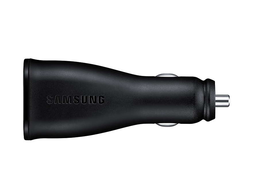 Dual Port AFC In-Car charger (with Type C cable) | Samsung UK