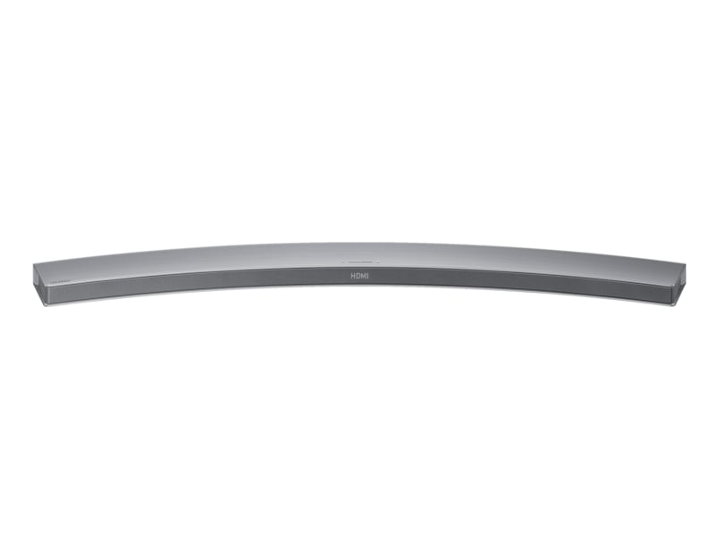 Curved Bluetooth Soundbar (Silver) Front