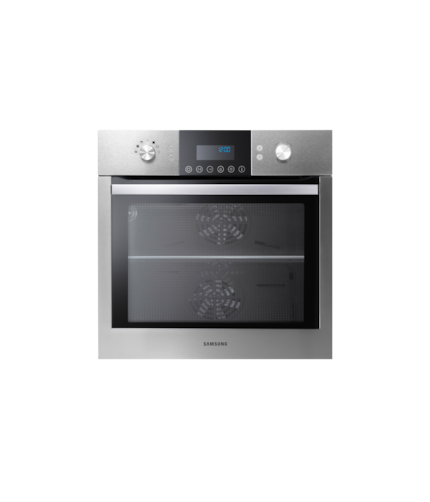 Geo Dual Cook™ Electric Oven Front2 Silver