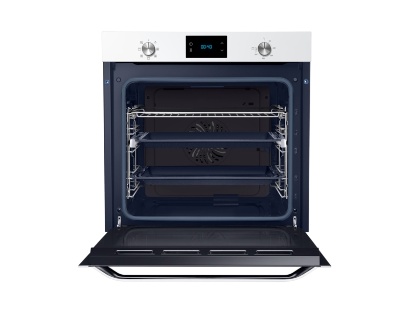 Nv75j3140rw 75 litre a self cleaning fan convection oven samsung uk - Clean oven tray less minute ...