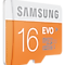 Micro SDHC EVO Memory Card with SD Adaptor (16GB) Front