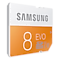 SDHC EVO Memory Card (8GB) Front Orange