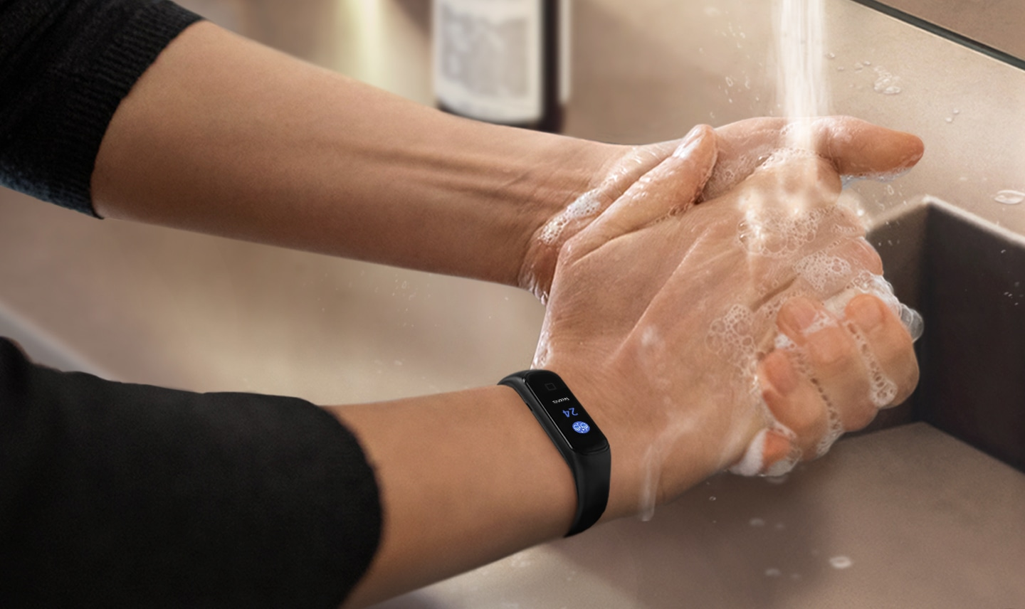 A friendly reminder to wash your hands
