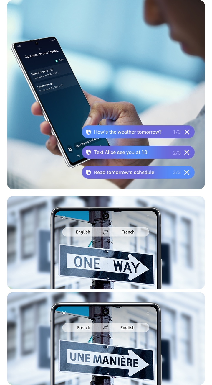 Bixby maximises the day's possibilities