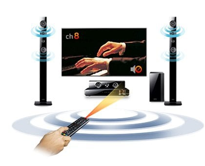 High quality surround sound from your TV