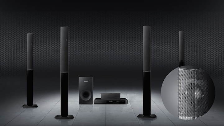 Experience cinema surround sound at home