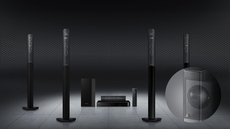 Prova il vero audio surround cinematografico a casa