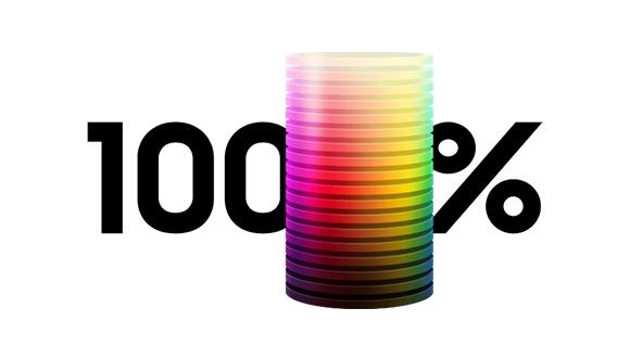 Colour Volume 100%
