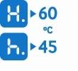 Efficient heat use