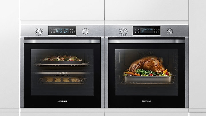 Two ovens or one. You choose.