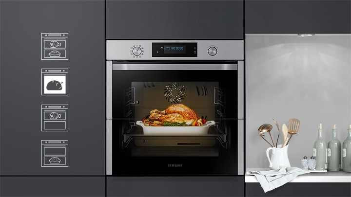 Samsung Dual Cook Flex Oven Nv75n5671rs Samsung Uk