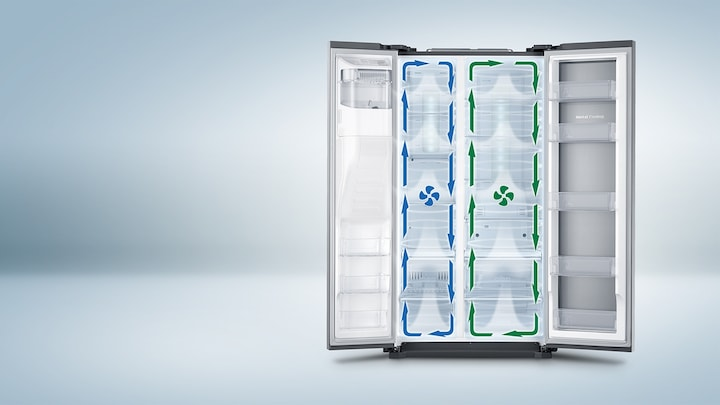 Individually optimised cooling