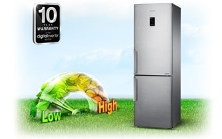 Enjoy energy savings, less noise and a 10-year warranty