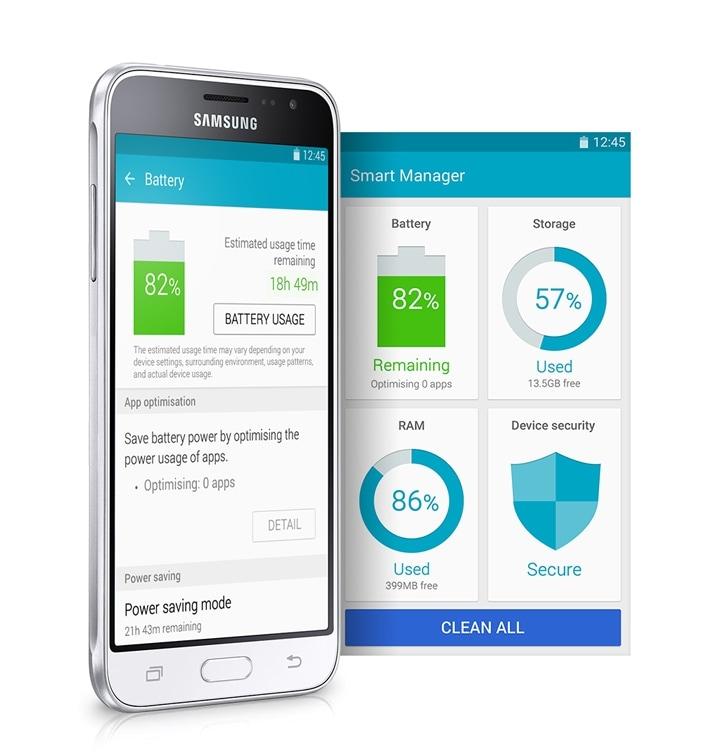 Samsung Galaxy J3 2016 5 0