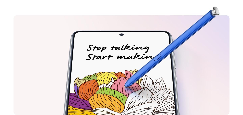 Poder para fazer mais com o S Pen