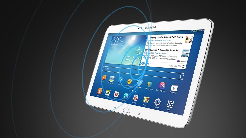 "Vivid and wide 10.1"" WXGA display"