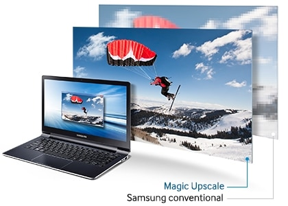Upscale your view with better quality and picture