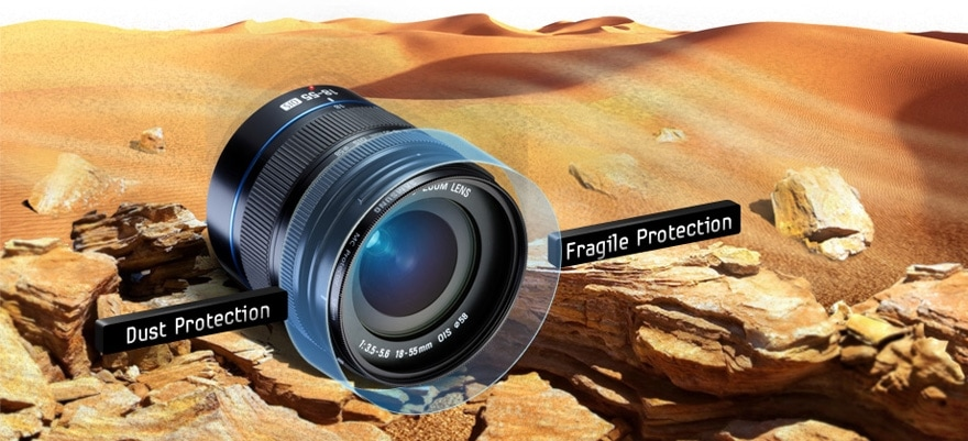 Keep your camera safe with filter protector