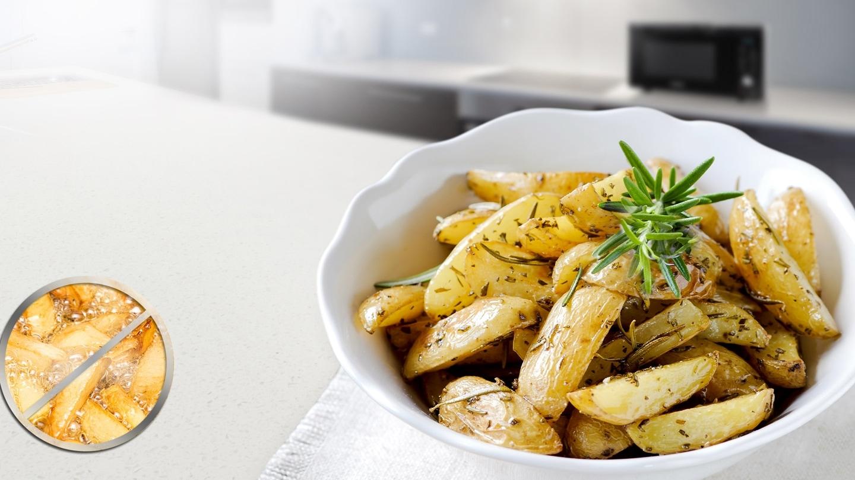Enjoy healthier fried food