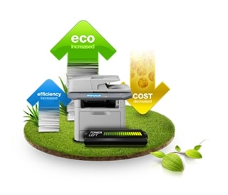 Save time and earth with convenient one-touch eco mode