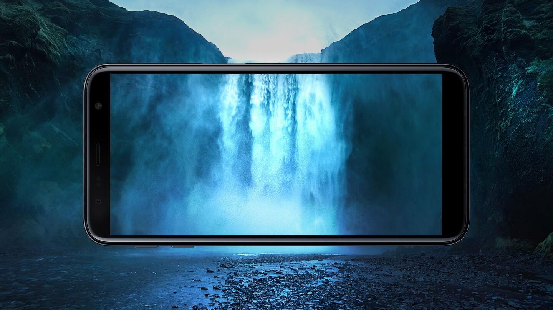 "6.0"" HD+ Immersive Display"
