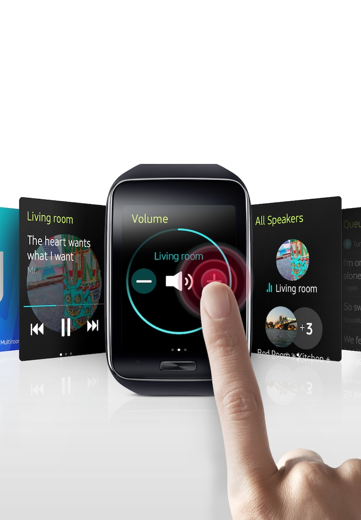 Multiroom App for Smartwatch