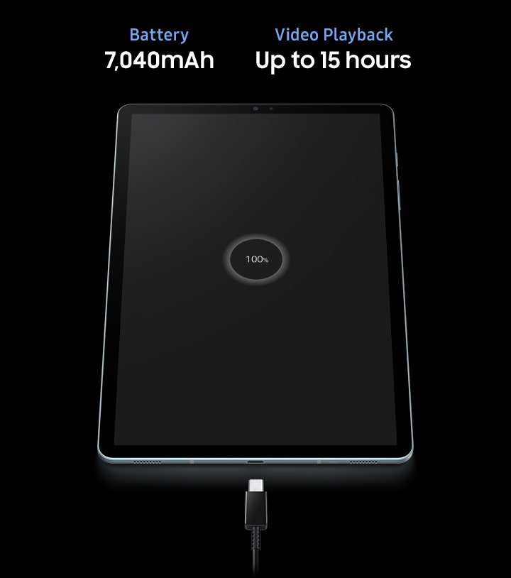 A tablet battery that puts the hours in, just like you