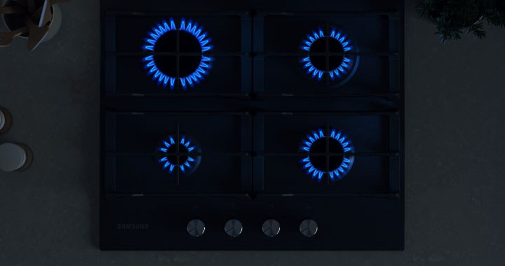 Powerful heat for faster cooking