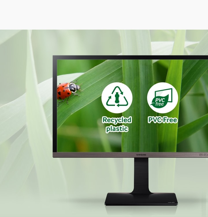 Save energy and the environment with this eco-friendly monitor
