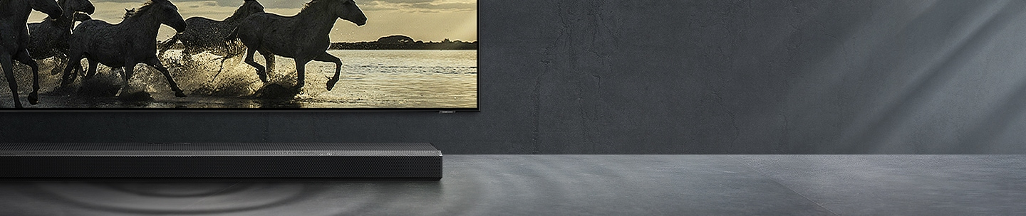 Q800T, the best matched soundbar for your QLED TV.