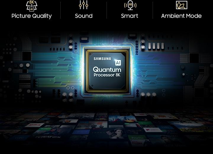 8K 85 inch QLED TV Q900R with 8K AI Upscaling | Samsung UK