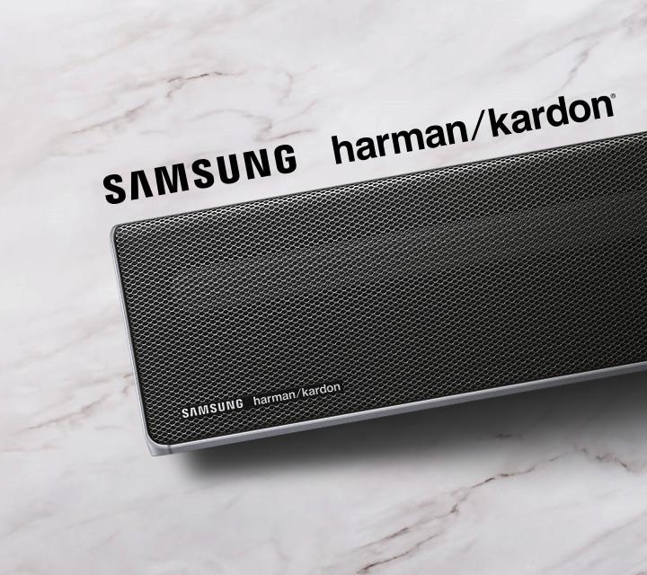 A Samsung and Harman Kardon designed soundbar