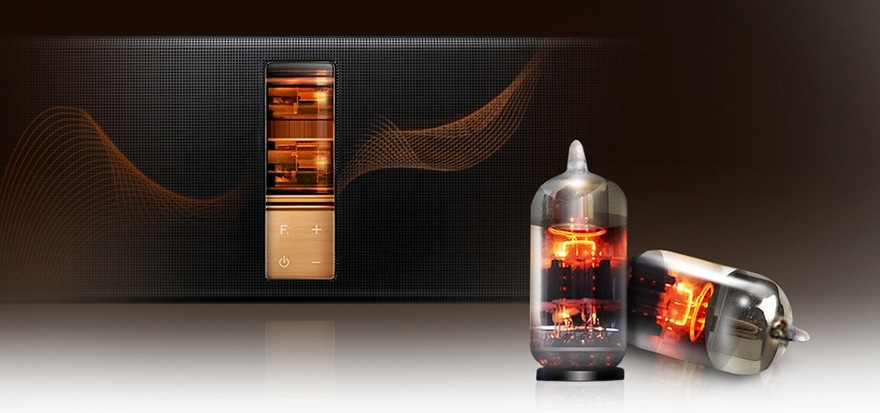 Superior sound quality from a vacuum tube amp