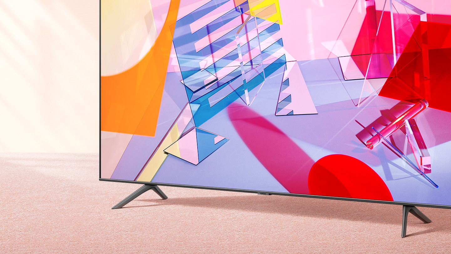 The essential QLED 4K TV