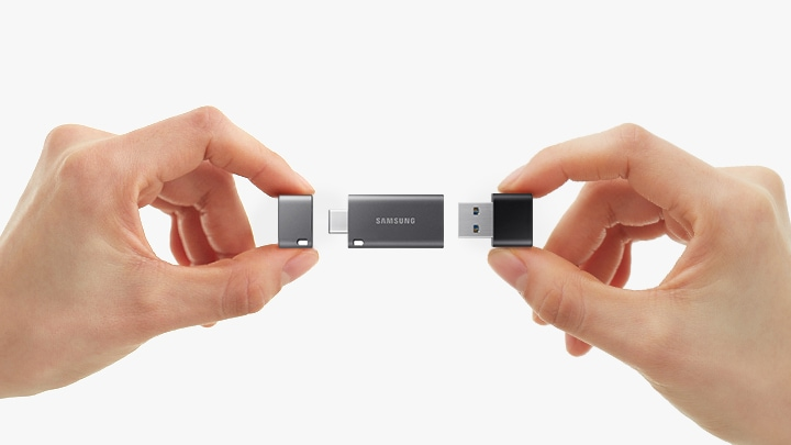 Two flash drives, in one.