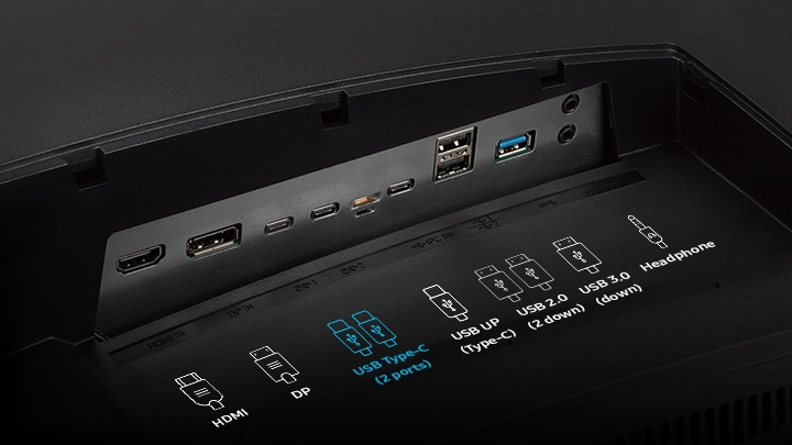 Two USB Type-C Ports