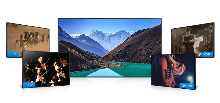 Enhance clarity with brilliant UHD Upscaling