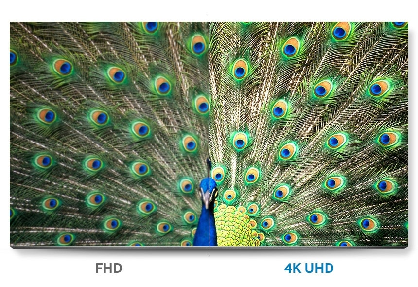 Discover the detail of stunningly realistic UHD picture quality