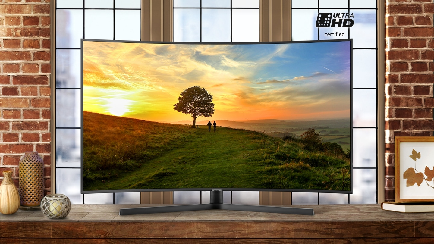 Experience exceptional Ultra HD certified picture quality