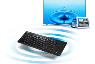 Control multiple devices easily with keyboard