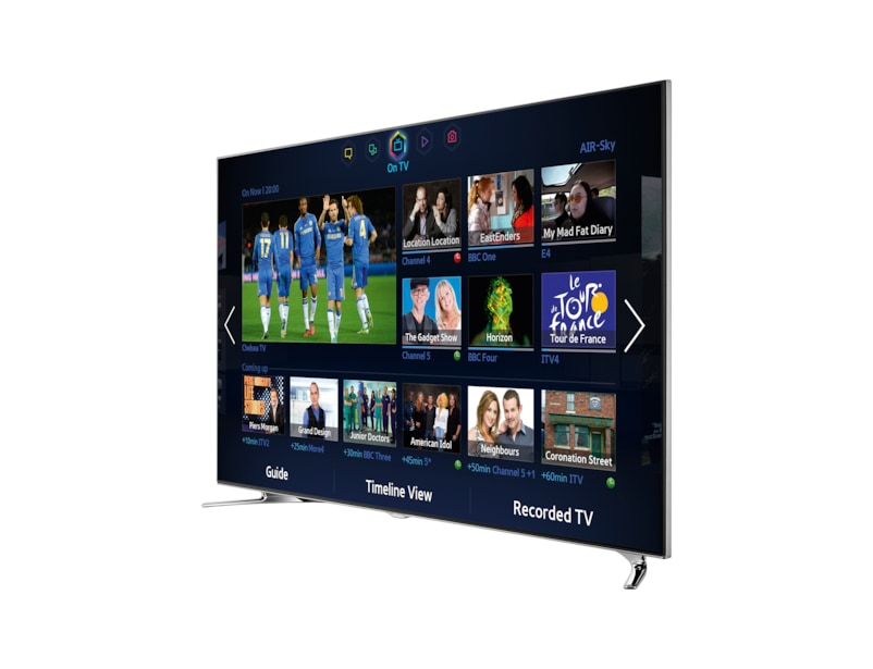 samsung tv 8 series. right black samsung tv 8 series m