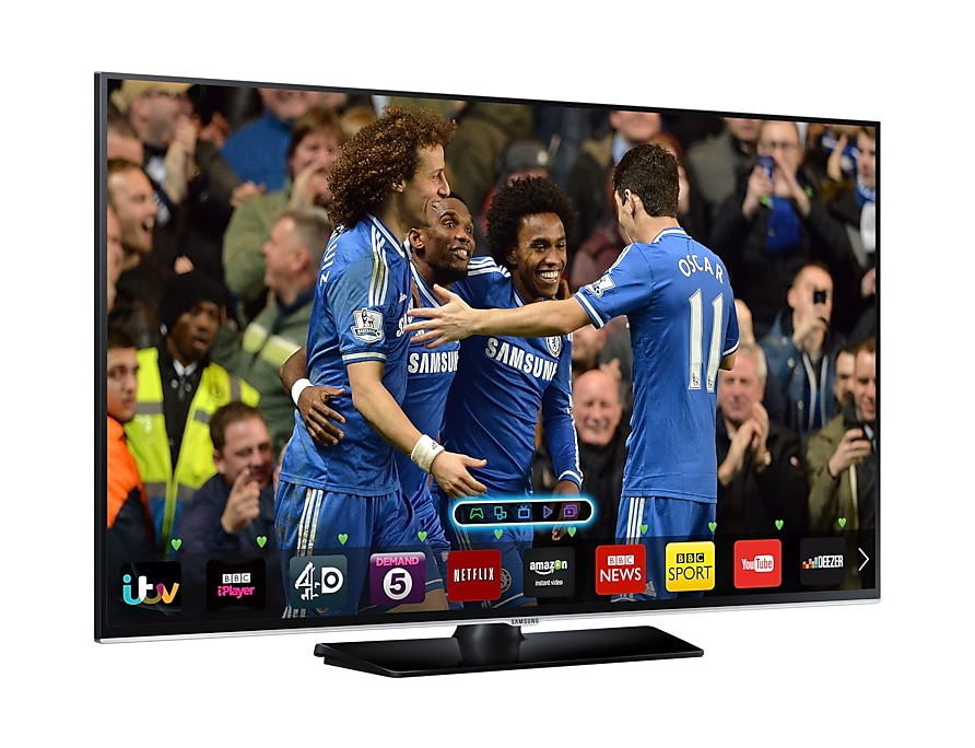 "32"" H5500 Series 5 Smart Full HD LED TV L Perspective Black"