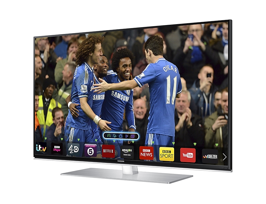 "48""  Series 6 Smart 3D Full HD LED TV R Perspective Black"