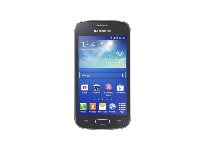 Samsung galaxy ace 3 in black or white 4g lte features front black ccuart Gallery