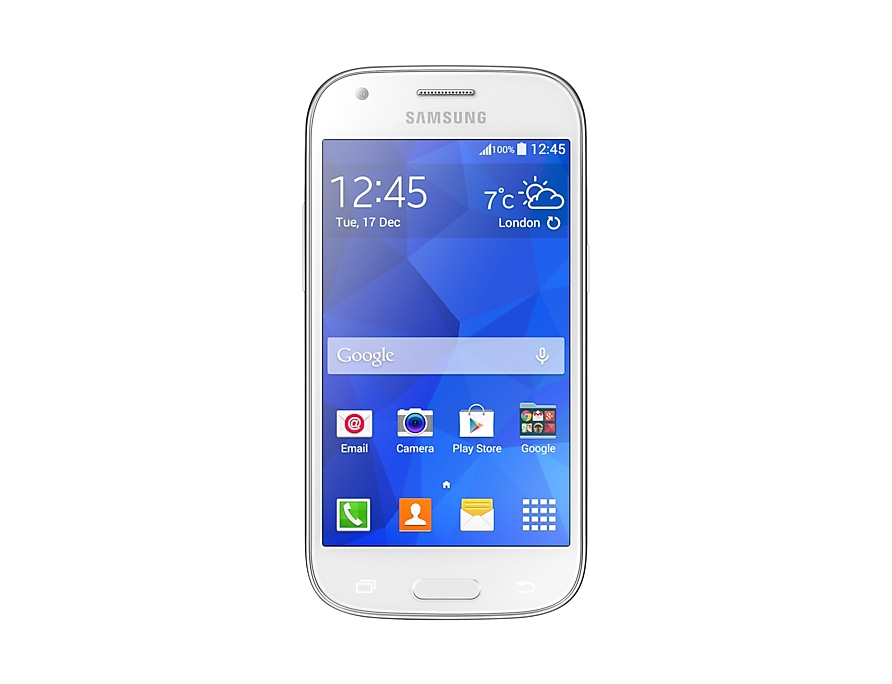 Galaxy Ace 4 (White) Front