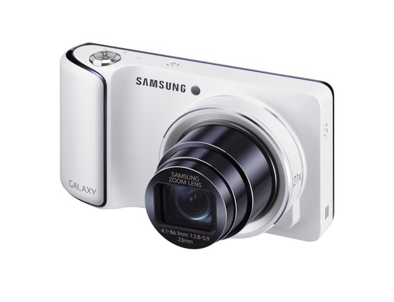 Samsung galaxy camera 3g wi fi 48 163mp 21x zoom front white sciox Choice Image