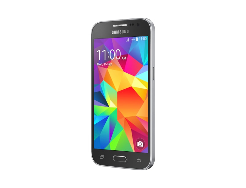 Galaxy Core Prime (Charcoal Grey) Perspective